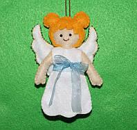 Игрушка-подвеска из фетра Ангелок  2508, фото 1