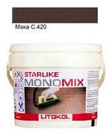 Monomix С.420 ведро 1 кг (мока) - однокомпонентный полиуретановый шовный заполнитель, Litokol