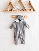 Флісовий чоловічок MagBaby Bear сірий меланж