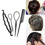 Набір для створення зачіски з 4 предметів Хеагамі, фото 6