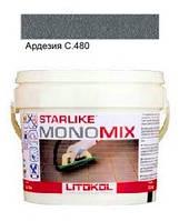 Monomix С.480 ведро 1 кг (ардезия) - однокомпонентный полиуретановый шовный заполнитель, Litokol
