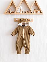 Флісовий чоловічок MagBaby Bear коричневий