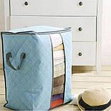 Органайзер кофр для зберігання постільної та одягу, фото 3