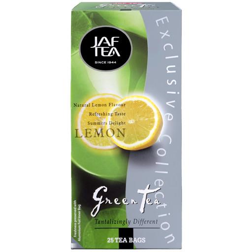 Чай в пакетиках зеленый JAF Лимон 25 п.
