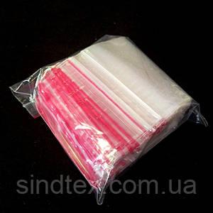 ЗИП пакеты с замком ZIP-LOCK, размер 160х250 мм, уп. 100шт (СИНДТЕКС-0961)