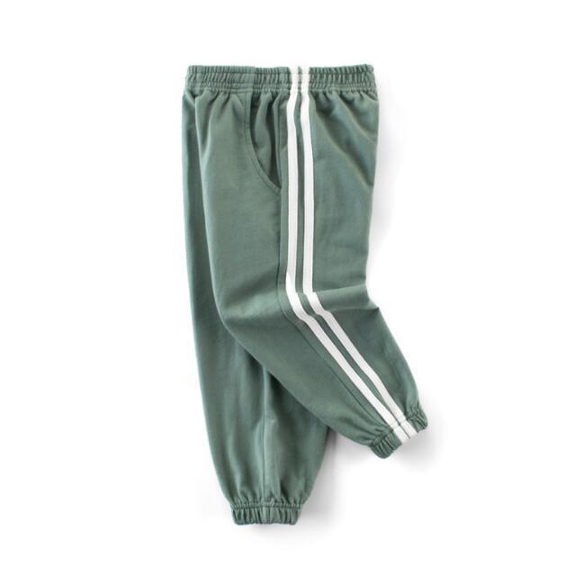 Детские спортивные штаны на резинке - хаки
