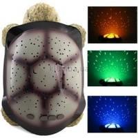 Светильник проектор звездного неба «Черепаха», фото 1