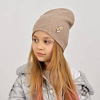 Демісезонна шапка для дівчинки весна-осінь 2021