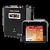 ИБП+литиевая (LifePo4) батарея комплект резервного питания для газового котла Logicpower W800 1500ватт