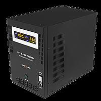 ИБП для котла напольный Logicpower LPY-B-PSW-7000VA+ 5000Вт 10A/20A 48V в металлическом корпусе