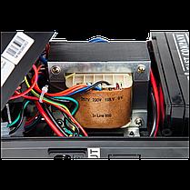 Береспойник побутовою в пластиковому корпусі LogicPower LP 650VA-PS 390Вт з вбудованим акумулятором, фото 3