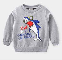 Детские костюм для мальчика с принтом акулы, фото 5