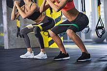 Фитнес резинки для спорта. Набор резинок 5 штук + чехол.