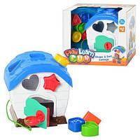 Детская игрушка Сортер домик KEENWAY 31251