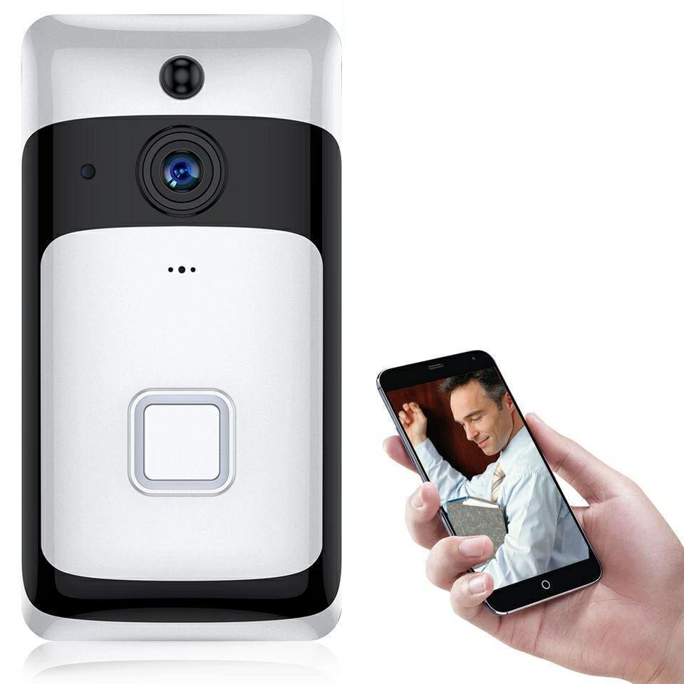 Беспроводной IP Wi Fi видео дверной звонок SDETER. Видеодомофон. Ночное видение. Охранная сигнализация. Onecam