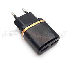 Сетевое зарядное устройство USB 5V 2.4 A (2USB)