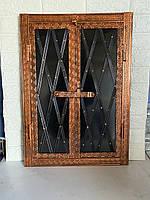 "Дверца под коптилку барбекю метал '""3"" мм 600х400 Дута"