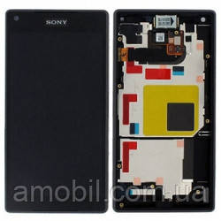 Дисплей + сенсор з рамкою Sony Xperia Z5 Compact E5803 / E5823 orig