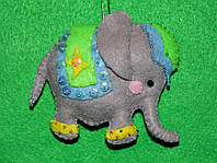 Іграшка з фетру двостороння Слоник 2510, фото 1