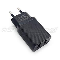 Сетевое зарядное устройство USB 5V, 2.4A (2USB)