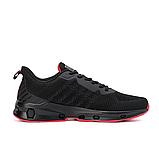 Мужские черные кроссовки, фото 6