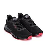 Мужские черные кроссовки, фото 4
