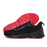Мужские черные кроссовки, фото 7