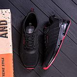 Мужские черные кроссовки, фото 3