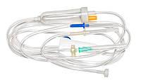 Система переливания инфузионных растворов с метал. иглой, JS