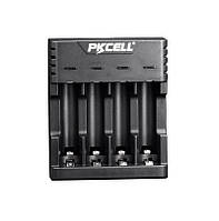 Зарядное устройство для аккумуляторных батарей AAA и AA Ni-MH NI-CD PKCELL со светодиодной индикацией, фото 1