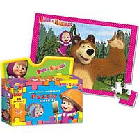 Маша и Медведь А4 в коробке (Маша на плече) VT1105-03 .