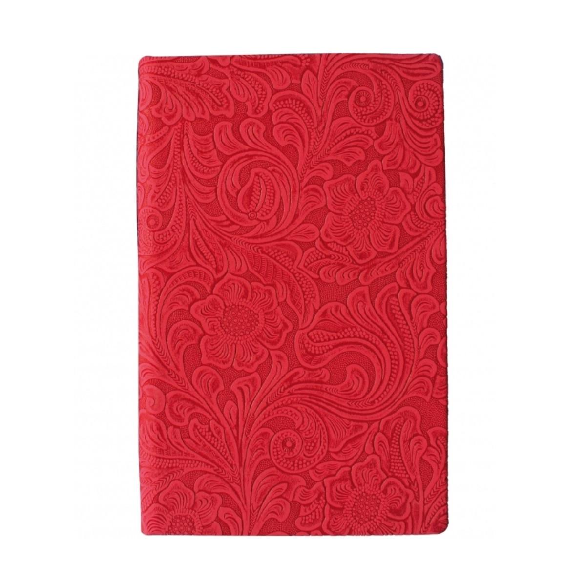 """Скетчбук А5, 64 л. """"Lady"""" твёрдая обложка, тиснение, Красный, 20815-03"""
