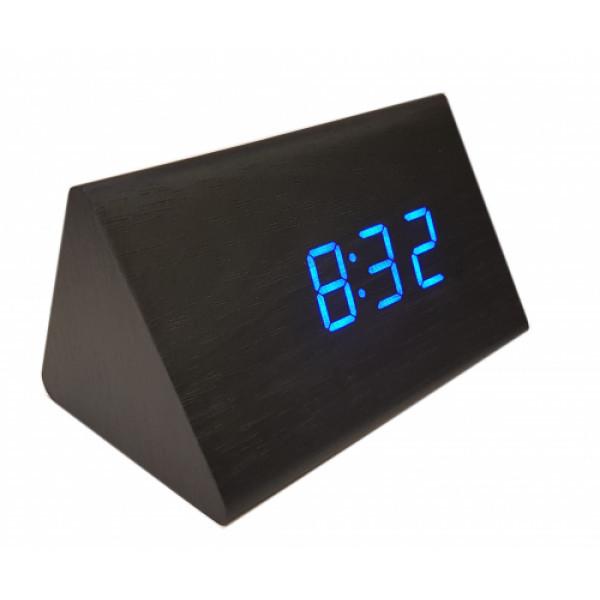 Годинники настільні електронні з синім підсвічуванням VST-864-5