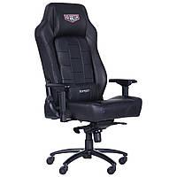 Геймерське крісло VR Racer Expert Adept чорний, TM AMF