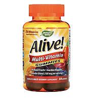 Nature's way Alive! комплекс вітамінів підлітків , 50 шт, фото 1