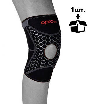 Наколінник спортивний OPROtec Knee Support with Open Patella TEC5729-SM S Чорний MR