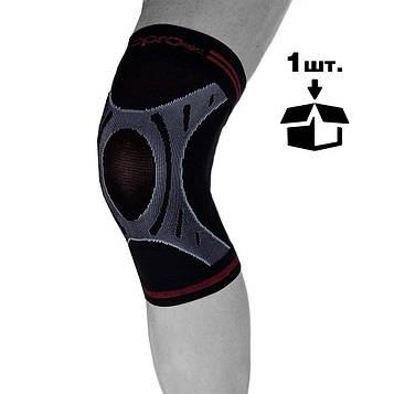 Наколінник спортивний OPROtec Knee Sleeve TEC5736-XL XL Чорний MR