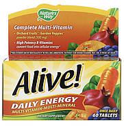 Nature's way Alive! комплекс мультивитаминнов і мультиминералов, 60 шт