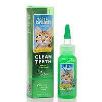 Tropiclean Fresh Breath Гель д/чистки зубов у котов ,59мл 001497
