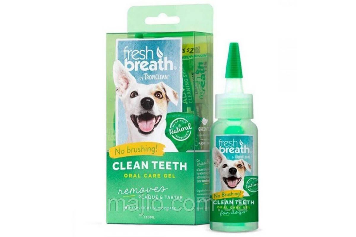 Tropiclean Fresh Breath Гель д/чистки зубов у собак,118мл 001008