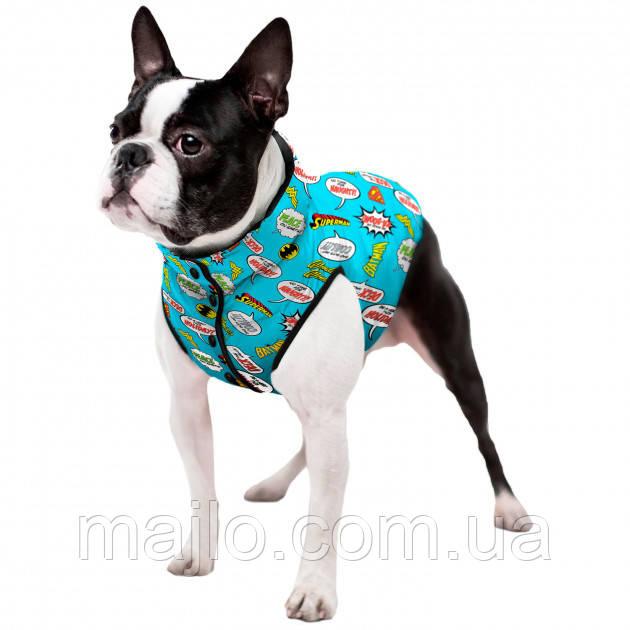 """Waudog Куртка для собак  """"Лига справедливостиі"""",  размер L55, 0955-4002"""