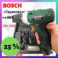 Шуруповерт Bosch PBA EasyDrill 1200 (12V 2Ah Li-Ion)  Дрель Аккумуляторный шуруповерт Бош