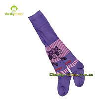 Яркие колготы на девочку фиолетовые
