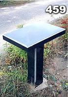Гранитный стол на кладбище образец № 459