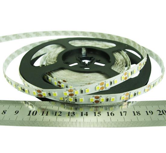 Світлодіодна стрічка тепло біла 24вольт 8.6 Вт 818лм 2835-120-IP33-WW-8-24 RN08C0TC-B 3000K Рішанг 15279