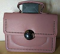 Женская сумочка через плечо кросс-боди Клатч Розовый