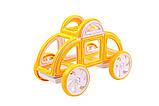 Магнітний конструктор Magformers Мій перший жовтий автомобіль 14 елементів (702005), фото 2