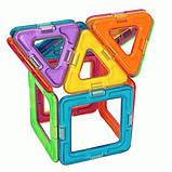 Магнітний конструктор Magformers Базовий набір 14 елементів (701003), фото 5