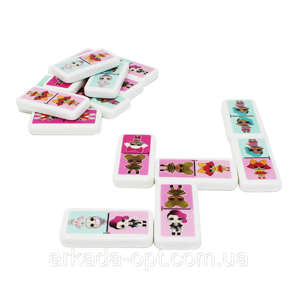 Настільна гра Spin Master L. O. L. Surprise в жерстяній коробці Доміно (SM98408/6052514)