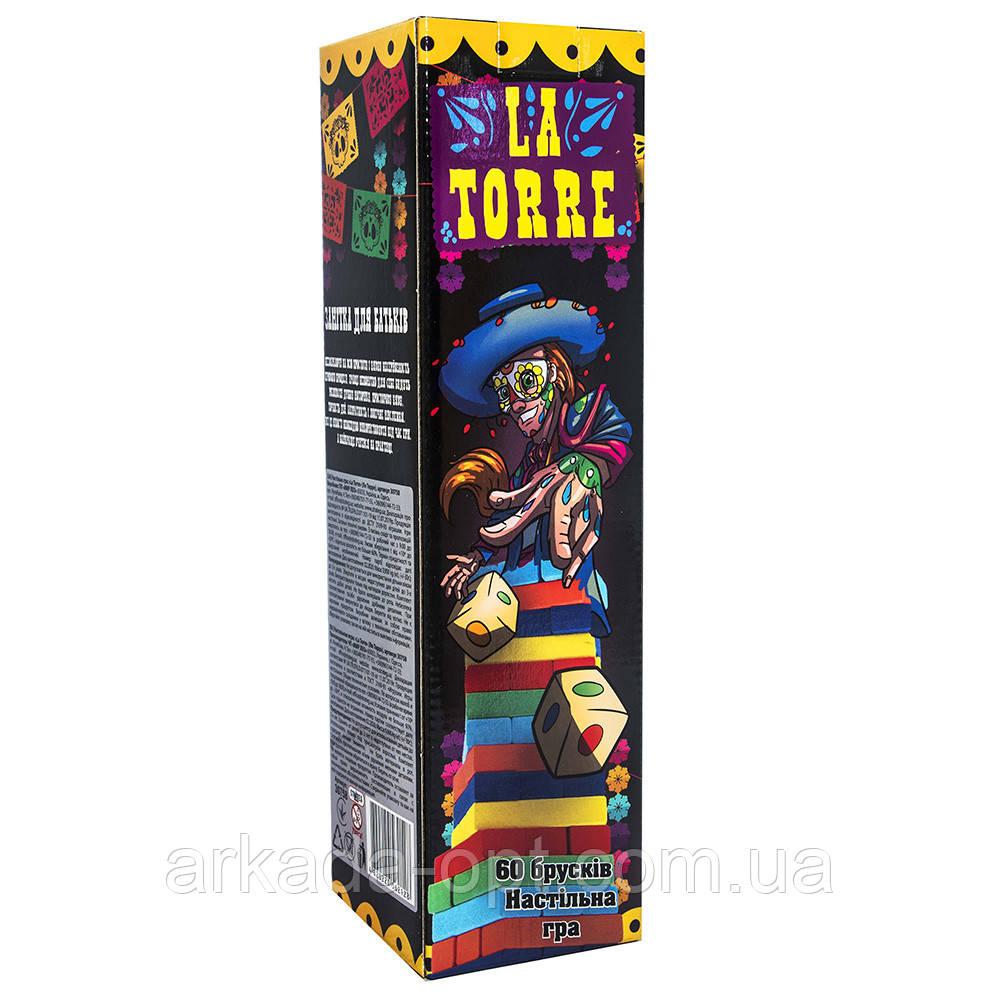 Настольная игра Strateg La Torre 60 брусков (30758)